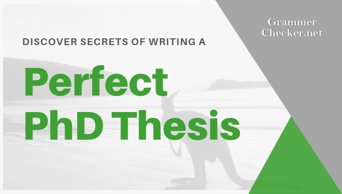 check out how to write a unique thesis in Australia